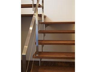 無垢材 階段板
