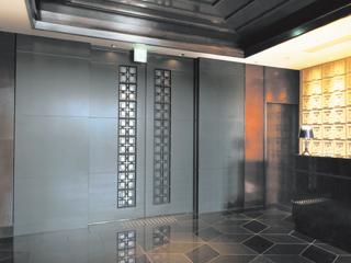 ロートアルミ【自動ドア装飾】