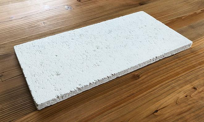 コンクリートブロック風タイル ホワイト