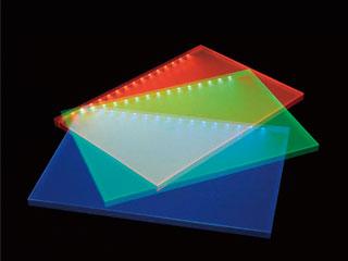 LED内蔵導光板【ルミシートRGB】