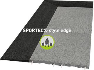 SPORTEC® style finishing tile