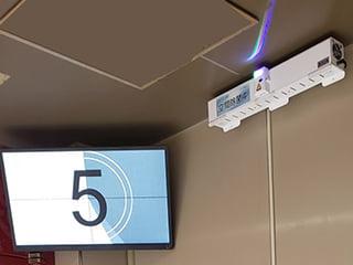 UV-C LED空気除菌装置「V-Shut」