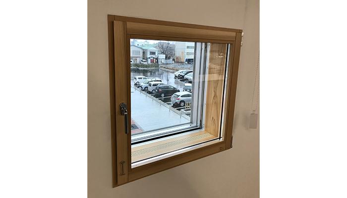 MADOBA<国産材でつくった木製窓> ドレーキップ窓/片開き