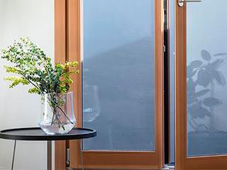 MADOBA<国産材でつくった木製窓> ドレーキップ窓/両開き