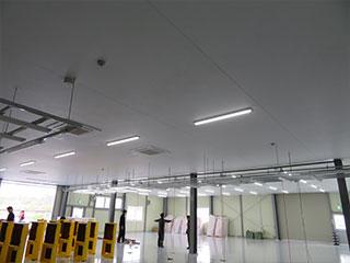 ファイバーシート天井システム