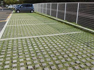 『グリーン71』コンクリート製舗装材【緑化率70%超】