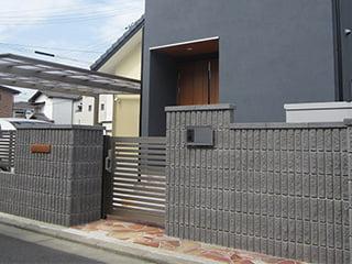 『ファブロック・エコ』コンクリート製壁材・組積材【割肌加工】