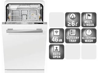 Mieleビルトイン食器洗い機 G 4880 SCVi* (45cm幅)