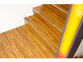 チーク階段材
