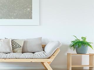サラリと快適な湿度を保つ透湿・消臭壁紙「ビオフリース」
