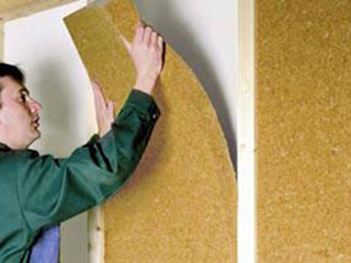 木質繊維断熱材「ウッドファイバー」