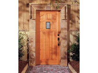 木製玄関ドア「シンプソン」