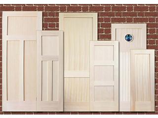 サイズオーダーできる室内木製ドア「Nオーダードア」