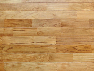 チークユニ床暖房フローリング<br> (15x75x1818mm、無塗装・塗装)