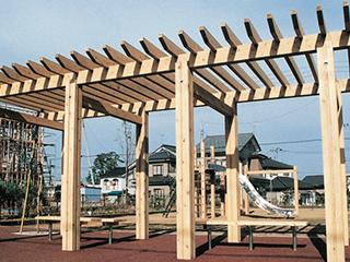 木製パーゴラ【PB-740】