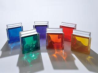 ガラスブロック カクテルカラーシリーズ