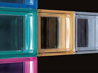 ガラスブロック メタリックカラーシリーズ