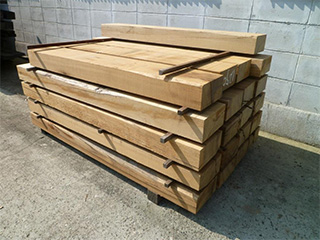 NGSハードウッド グリーンハート 枕木