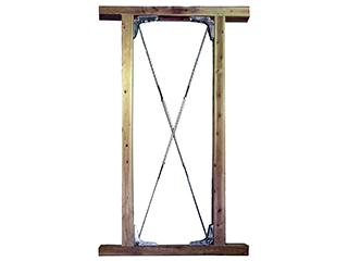 木造住宅補強金物【Kブレース1型】