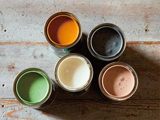 VOC0%の自然オイル塗料「ルビオモノコート」