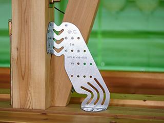 木造筋かい用接合金物【ブレスターZ600】