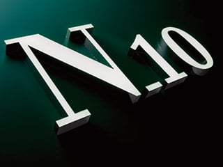 nanoLEDシリーズLED clannel「N-10b(正面発光チャンネルフレームレス flat )」