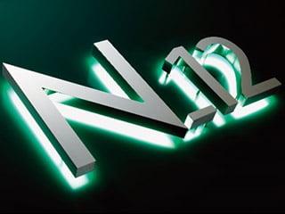 nanoLEDシリーズLED clannel「N-12(裏面発光バックチャンネル)」
