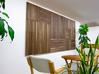 WOOD BRICK<br> WALL PANEL