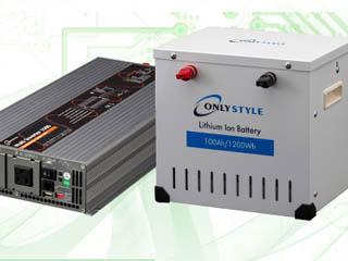 マルチインバーター+リチウムイオンバッテリーセット