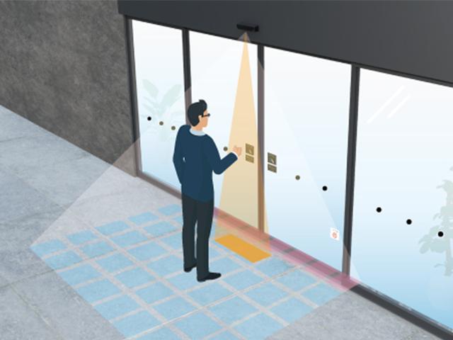 自動ドア用 非接触センサー OAT-3V