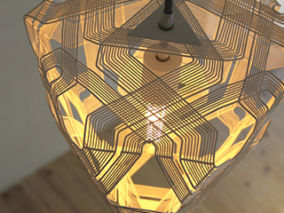DIAMOND PENDANT LAMP S