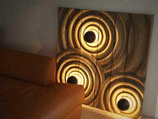 RIPPLE WALL ART LIGHT