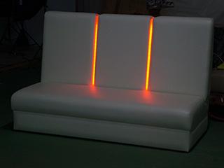 LEDソファ