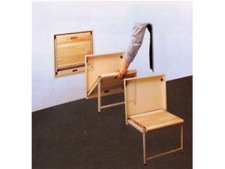 壁面収納折りたたみ椅子【ウォールチェアー】