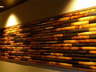RE-style BAMBOO 竹の壁材「リスタイルバンブー」<br> 【 燻し BAMBOO 】