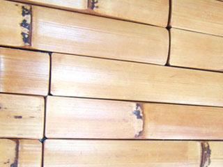 RE-style BAMBOO 竹の壁材「リスタイルバンブー」<br> 【 柿渋染め BAMBOO 】