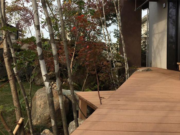 次世代ハイブリッド・デッキ材オリジナル人工木材【Eee-Wood】