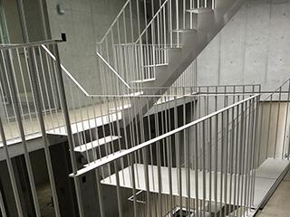 オリジナル金属階段