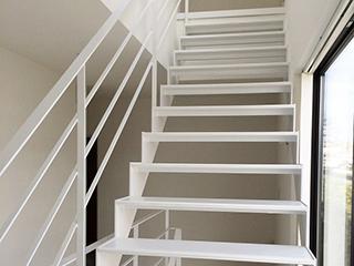 オリジナルスチール階段