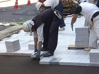 建築・景観資材 シュタインフィックス<br> (乾式工法敷石材)