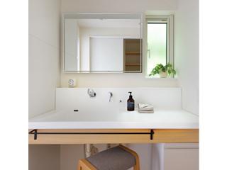 Flex Sink(フレックスシンク)ハイバックタイプ人工大理石一体洗面カウンター