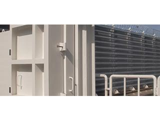 横引き防水扉