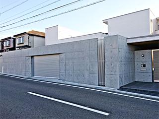 コンクリートアートシリーズ<br> 【コンクリート打ち放し 化粧施工】