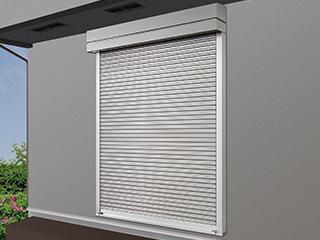 高耐風圧タイプ窓シャッター【マドモア耐風ガード】