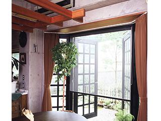 装飾窓用ロールアップ網戸 【PSR】
