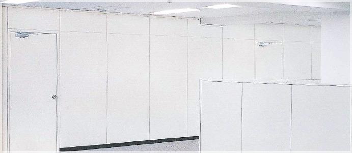 支柱内蔵式スチールパーティション<br> 【スタットイン50】