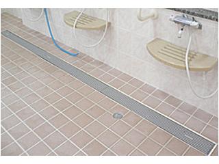 トラップ付排水ユニット<br> [樹脂グレーチングタイプ(RM)]