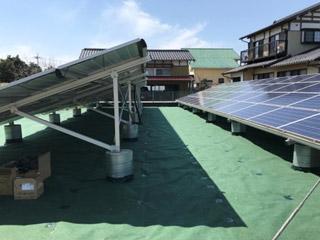 太陽光発電施設向け防草シート10年保証プラン