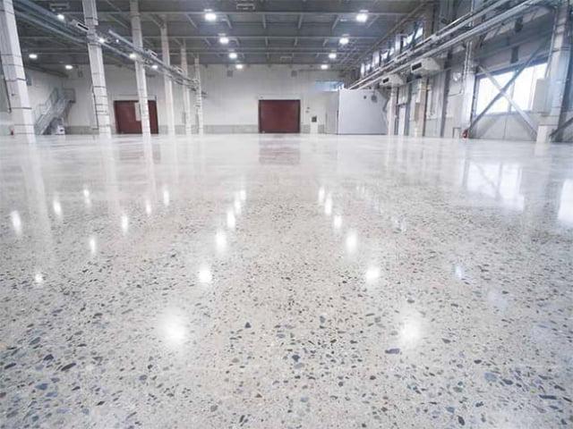 コンクリート磨き床【用途タイプ:使う床】