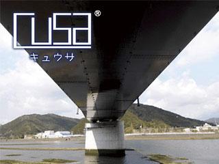 橋梁点検用-アルミ合金製常設作業パネル<br> 【キュウサ/cusa】